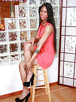 Emily B is a stunning statuesque girl with a beautiful face, sexy hormone tits with puffy nipples. a hot ass and a big sexy cock! Great looking new girl from the Bronx. She works a regular job in retail. A real winner!